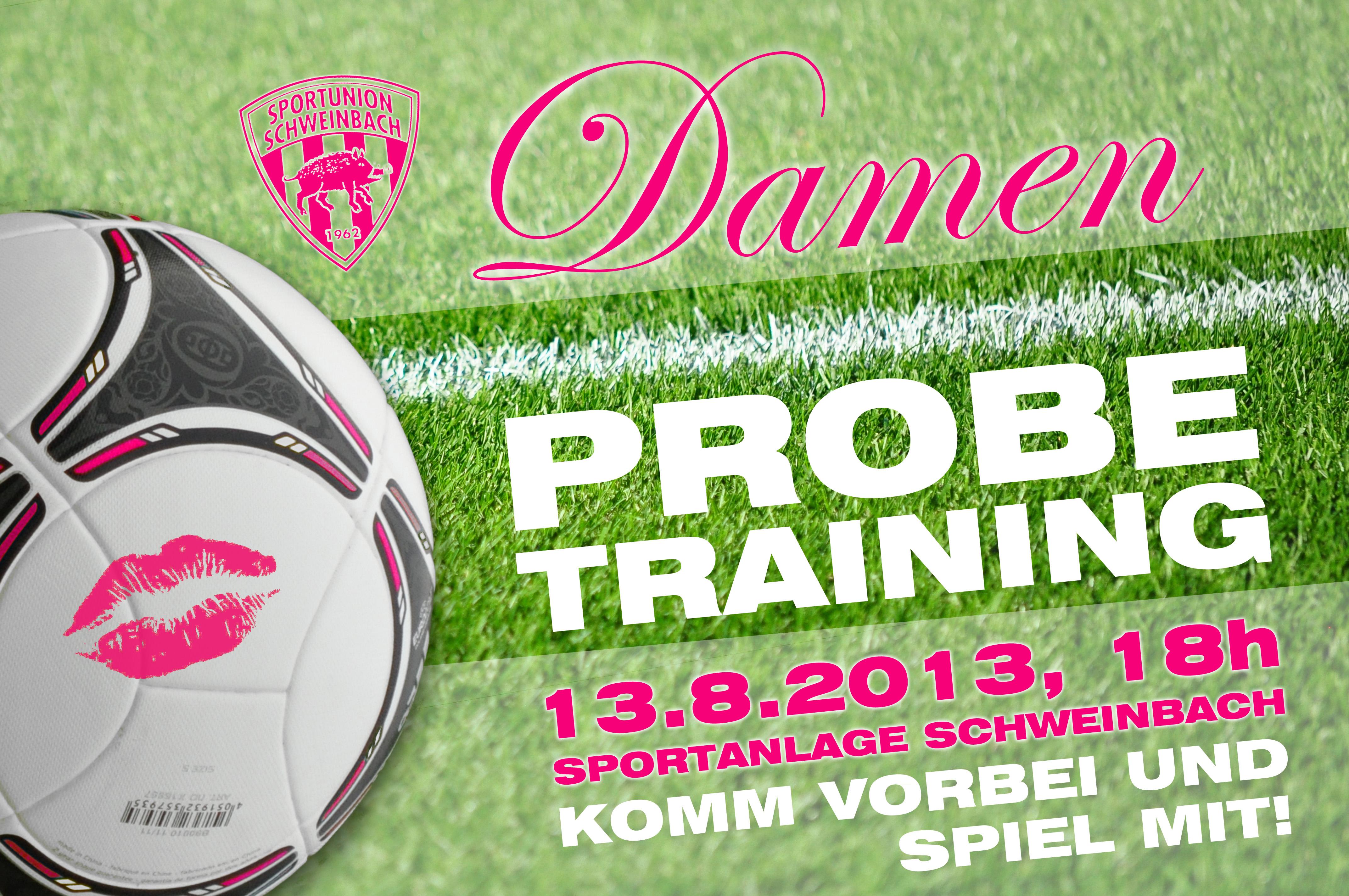 Damen_Probetraining_logo
