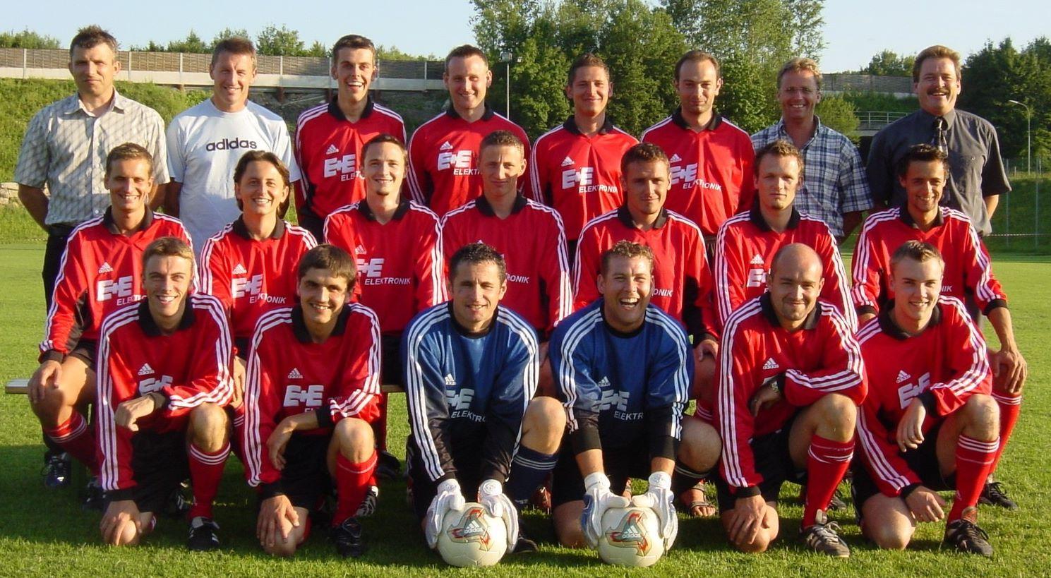 Meistermannschaft 2003 Schweinbach (2)