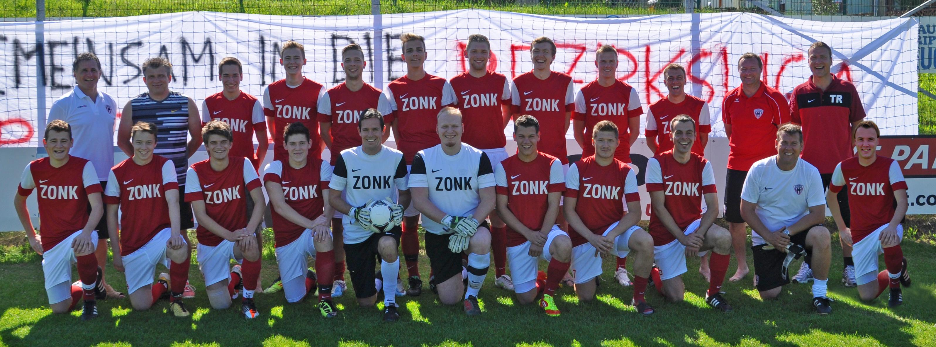 Meistermannschaft 2012