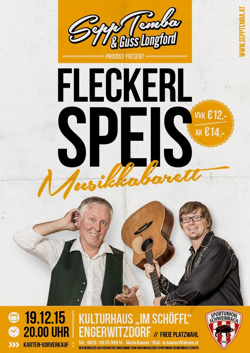 """""""Fleckerlspeis"""" - Das neue Programm am 19.12.2015"""