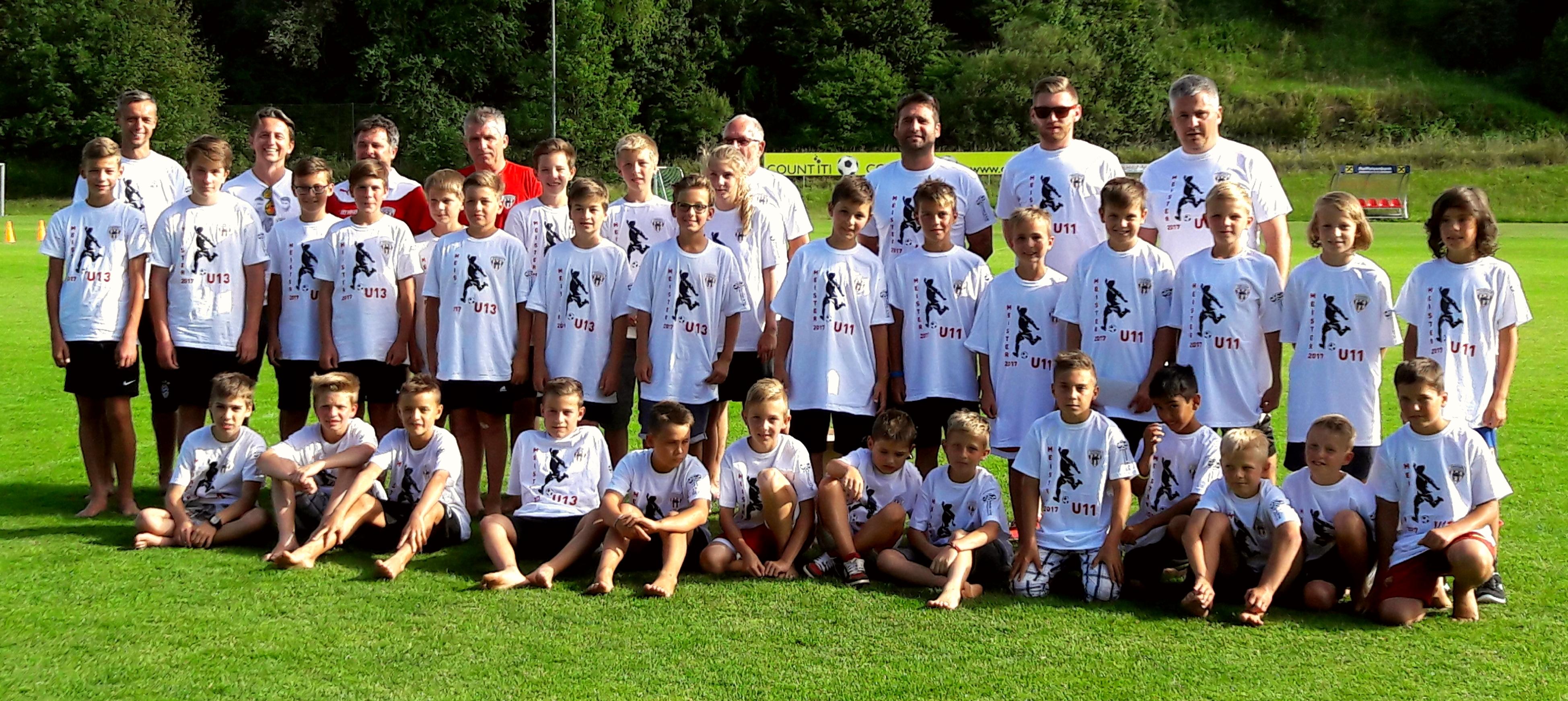 Fußball-Nachwuchs-Abschlussfeier 2017