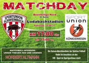 Matchday-BL26-Königswiesen_Sa10.06.17