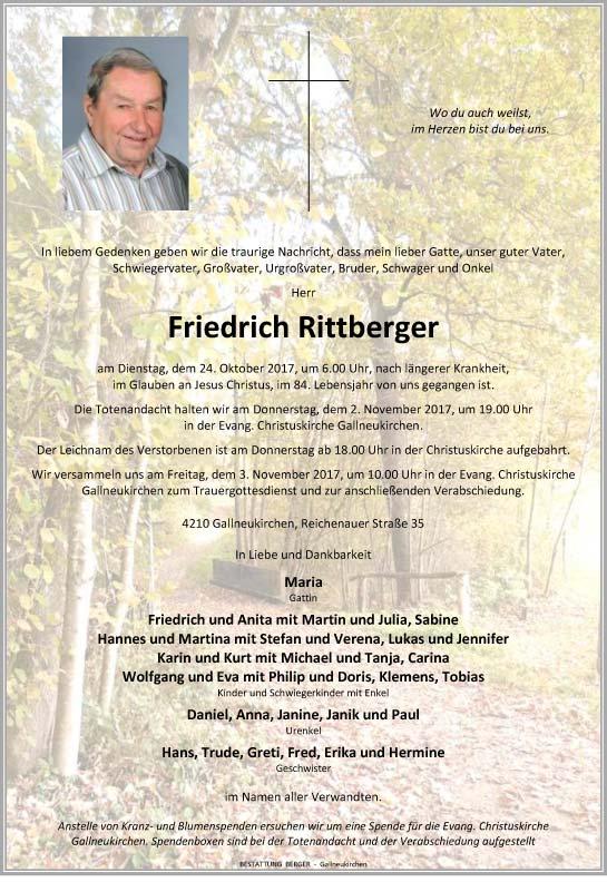 Parte Friedrich Rittberger