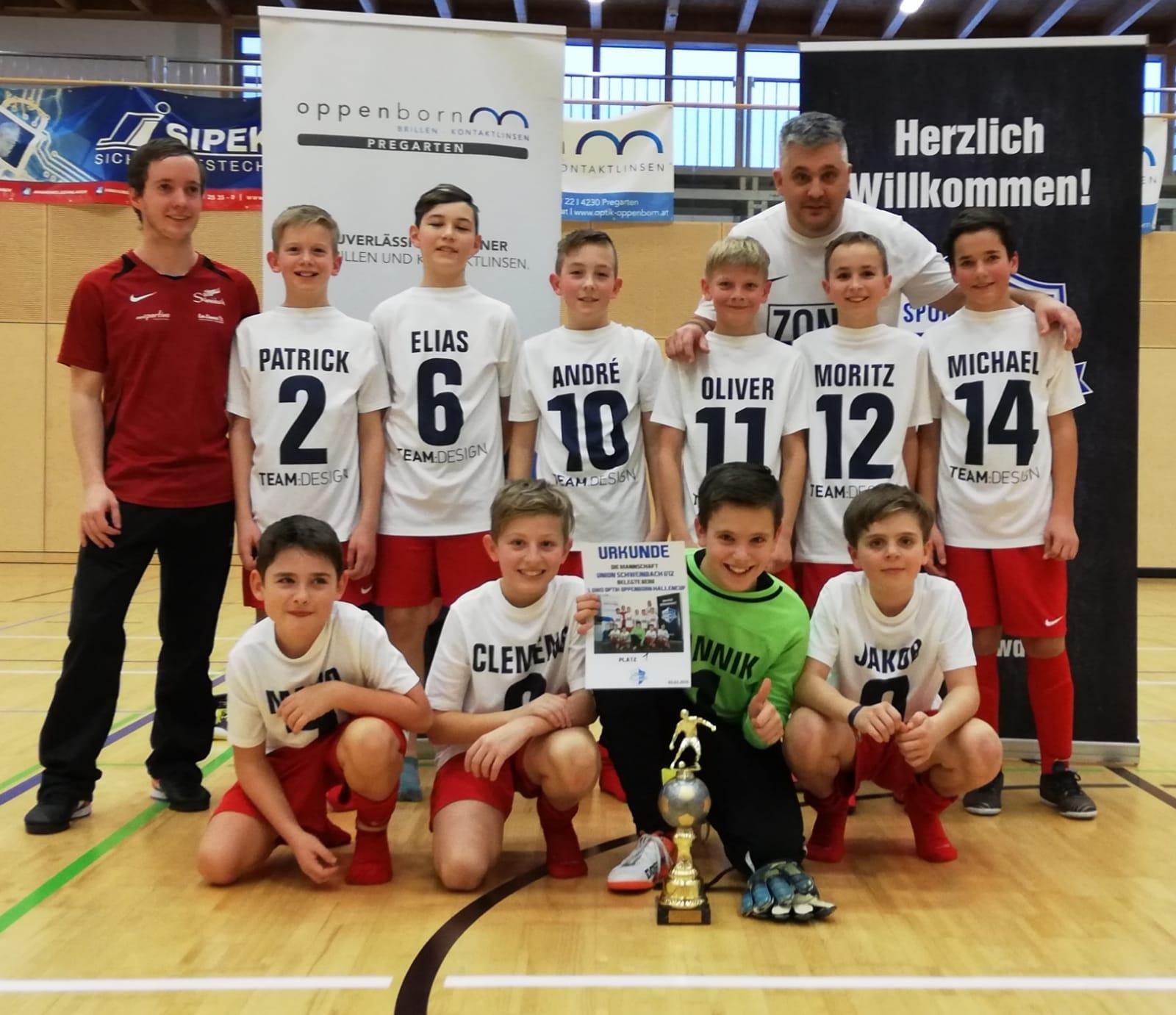 Turniersieg unserer U12 in Hagenberg
