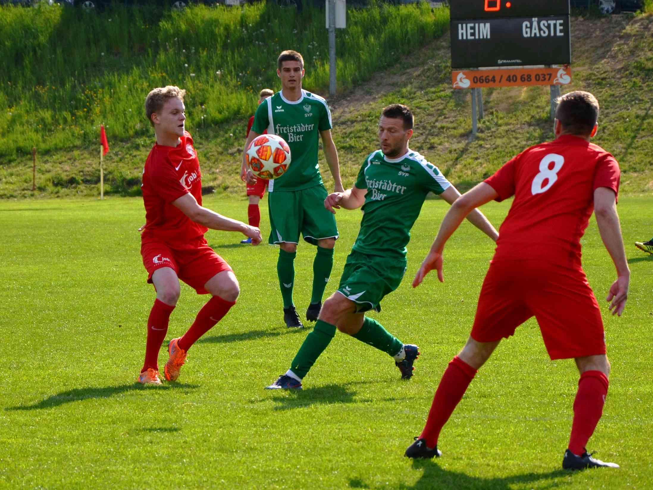 Niederlage gegen Titelanwärter Freistadt