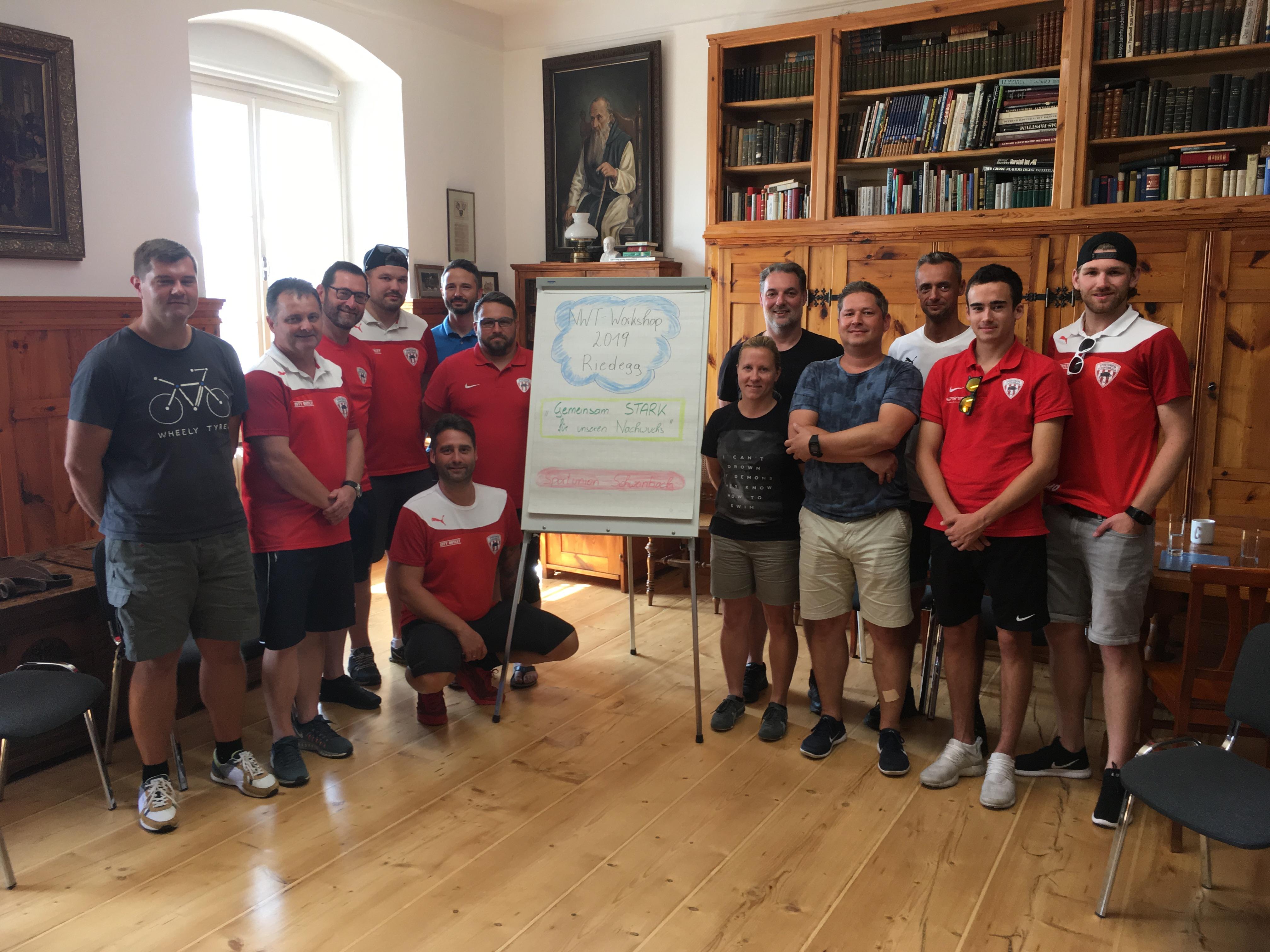 Nachwuchstrainer-Workshop